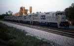 New CSX C40-8s